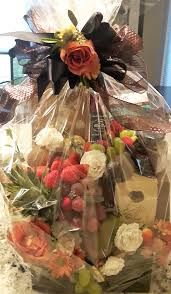 gluten free gourmet basket wrapped presented with style