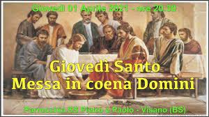 Giovedì Santo - 01 Aprile 2021 - YouTube