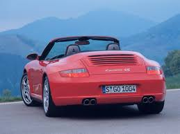 2006 Porsche 911 Carrera 4S Cabriolet - Rear - 1280x960 Wallpaper