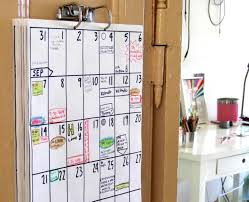 Family Wall Calendar Ideas Wall Decorating Ideas intended for measurements  1500 X 1221