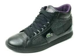 Lacoste Uk Shoes Size Chart Lacoste Observe 2 Hi Plaid Black Sneaker Size Us 6 Uk 4 Eu