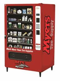 Vending Machine Supply New MTS Xpress Inventory Management Systems Myers Tire Supply