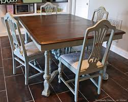 unique painted dining tables. enjoyable inspiration ideas vintage dining table refinishing tutorial uniquely yours or mine unique painted tables