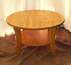 small round pedestal coffee table