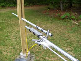 installing a new antenna gap titan dx ke1ri a new england ham the only solution was to take the antenna down and cut off three feet of the mounting pipe i didn t trust my mount so i tried to tilt it down using a