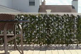 faux ivy fence vs artificial hedge