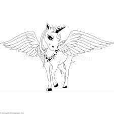 Baby Pegasus Coloring Pages Page Cute Chronicles Network