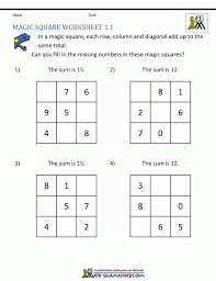 entrancing magic square worksheets completing the worksheet gcse 1st grade math she complete the square worksheet