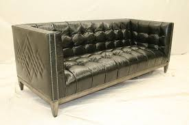 sofa couch loveseat 7 cool black leather tufted sofa custom stitching