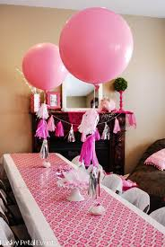 Pink Princess Party balloons Pretty