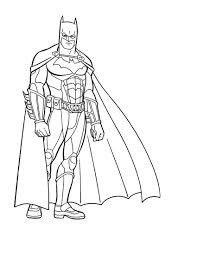 Small Picture Batman Coloring Pages Printable itgodme