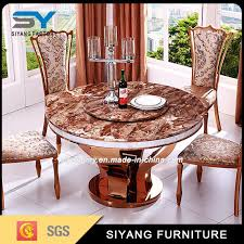 restaurant furniture set factory oak round dining table