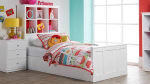 Kids Bed With Bookshelf Lola Single Bed Harvey Norman I Like The Bookshelf Bedhead Good