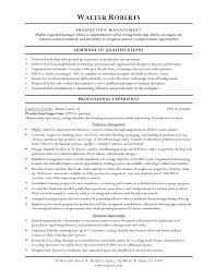 Manufacturing Supervisor Resume Best Inventory Objective Example