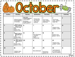 Sample School Calendar October 24 Calendar St Helena Incarnation School 21
