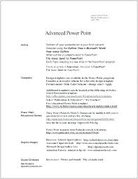Ms Word Resume Format Format Word File Of Word Resume Template Free ...