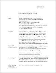Ms Word Resume Format Word Resume Template Word Resume Templates