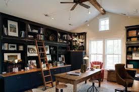 home office bookshelves. Home Office Bookshelf Ladder Rustic With Area Rug Bookcase Bookshelves Built In Shelves B