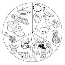 Healthy Food Coloring Page Healthy Food Coloring Pages Best Of Junk
