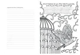 Journal With Coloring Pages Free Gratitude Journal Coloring Page And