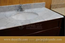 bathroom vanity tops with sink. lovely marble bathroom vanity tops italy carrara white top with sink faucet e