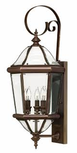hinkley copper bronze augusta small wall mount