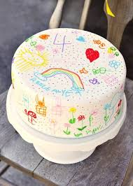 Simple Let The Birthday Child Draw On Their Cake Whats On For
