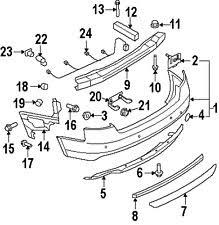 audi s5 bumpers audi 8k0971104s genuine oem wire harness