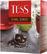 <b>Чай черный TESS</b> Earl grey байховый к/уп – купить в сети ...