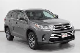 New 2018 Toyota Highlander For Sale in Amarillo, TX | #19759