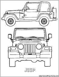 Pin By Theresa Fisher On Coloring Jeep Jeep Drawing Drawings