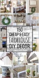 easy diy farmhouse decor ideas
