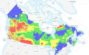 risk of wildfires across British Columbia