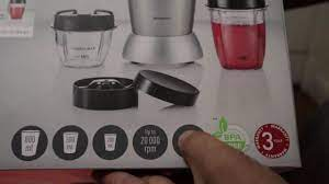 Lidl Silvercrest Nutrition mixer Unboxing - YouTube