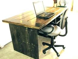 plan rustic office furniture. Rustic Desks Office Furniture Desk Soft Modern With Regard To Plan