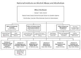 Nih Organizational Chart Org Chart National Institute On Alcohol Abuse And