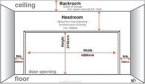 garage door sizesMeasuringwooden Garage Door Sizes Uk Double Dimensions Nz