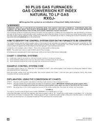 Gas Code Chart Lp Conversion Index Rheemote Net
