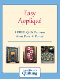 Free Quilting eBooks from Fons And Porter's Love of Quilting - The ... & Applique Quilt Patterns eBooks Cover Adamdwight.com