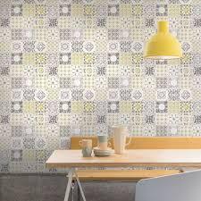 grandeco porto fl pattern wallpaper baroque motif kitchen bathroom a22901