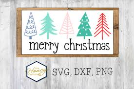Cut the ornaments in metallic, shimmery or glittered paper, add more buttons and brads for ornaments and even christmas morning svg collection. Merry Christmas Tree Bundle Svg Dxf Png Graphic By The Honey Company Creative Fabrica