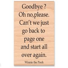 Winnie Pooh Quotes Saying Goodbye Daily Motivational Quotes
