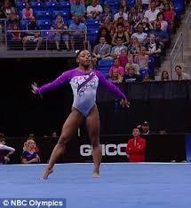 floor gymnastics olympics. Olympic Gymnastics Hopeful Simone Biles Wows The World With A Spectacular Floor Routine Olympics O