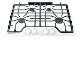 white gas cooktop 30 lg appliances gas with white glass gas cooktop 30 white gas
