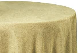 108 tablecloth on in table