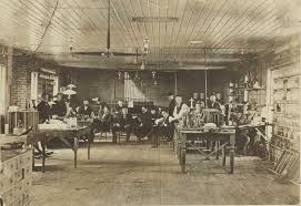 Image result for his laboratory in Menlo Park, New Jersey.
