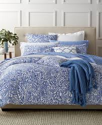 charter club sheets macys charter club damask designs paisley denim bedding collection