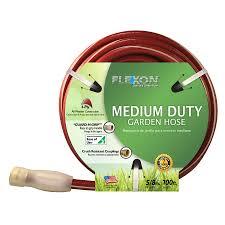 flexon garden hose. FLEXON 5/8-in X 100-ft Medium Garden Hose Flexon