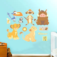 lion king wall decals lion king wallpaper decal decoration seal sticker wall kids room wall baby lion king wall decals
