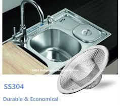 stainless steel wire mesh sink strainer hair catcher stopper bathtub shower drain hole filter strainer
